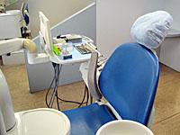 画像:診療台
